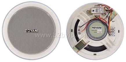 TYN-106/5S天花喇叭图雅丽智能公共广播系统
