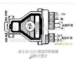 TTY232RS232电流环转换器5V供电
