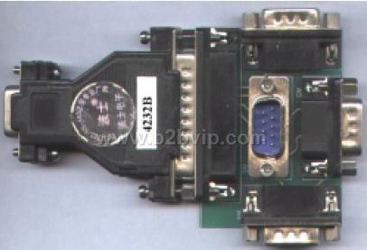 4232BRS-232一对四多机通信器无须外接电源