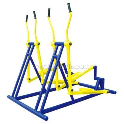 北京户外健身器材-两联椭圆机