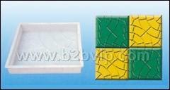 塑料模具,彩磚模具,地磚模具,路沿石模具
