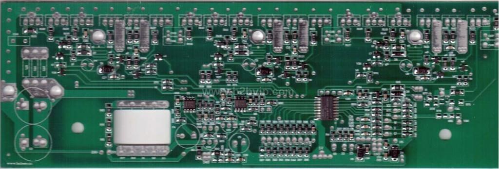 18管大功率电动三轮车控制器半成品板