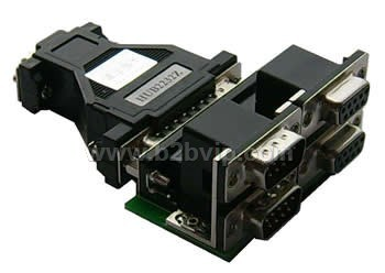 HUB2232Z波士RS232二对一智能共享器