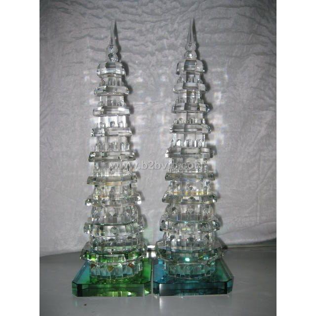 水晶玲珑宝塔,旅游纪念品