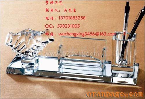 上海水晶礼品、公司开业庆典纪念品、上海水晶办公摆件