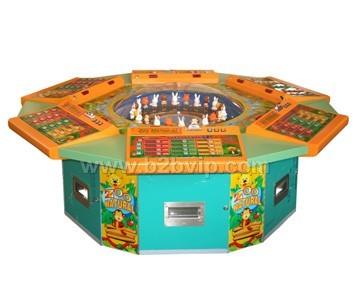 海威科技自然动物园游戏机 广州游戏机厂