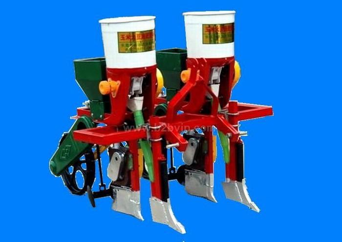 玉米播种机,玉米精播机,农业机械,青岛利大机械厂