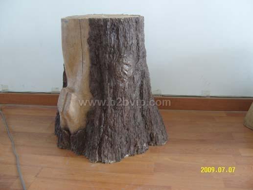 仿木树墩子