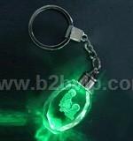水晶钥匙扣|温州广告促销礼品|水晶挂件