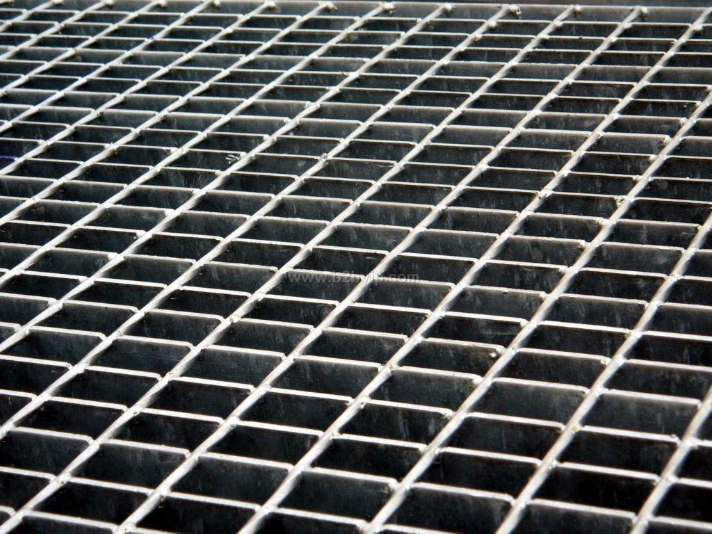 钢格栅板网格板镀锌钢格板