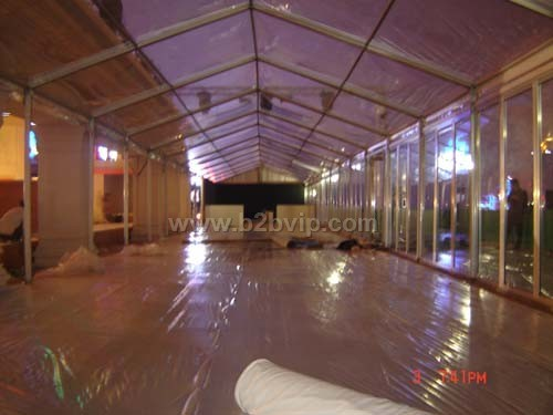 玻璃墙透明顶帐篷出租