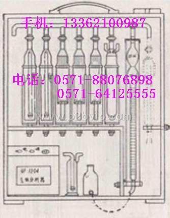 奥氏气体分析仪氧氮分析仪奥氏气体分析器