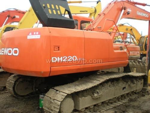 二手大宇220lc-5挖掘机