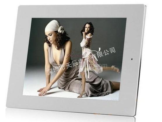 12.1寸带重力感应数码相框婚庆礼品广告机