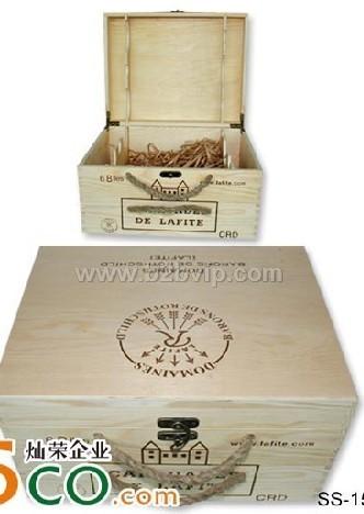 低价供应木质酒盒