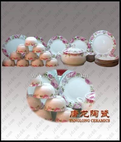 景德镇骨瓷餐具时尚礼品餐具高档餐具餐具订做批发