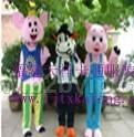 天祥供应毛绒卡通服装,奥运礼品,服装道具,上海行走人偶服装