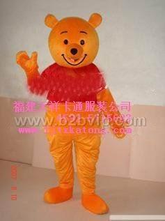 出售福建天祥卡通服装/甘肃毛绒卡通服装