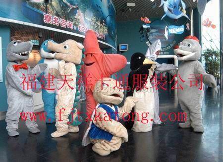 出售福建天祥卡通服装,婚庆礼仪,童话人偶服装,海洋世界