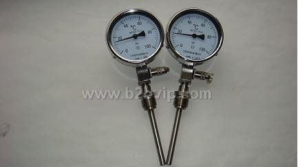 "0~100℃ Φ12*300 的内容刹车管 pt100左接线盒""表示:该温度计为带电"
