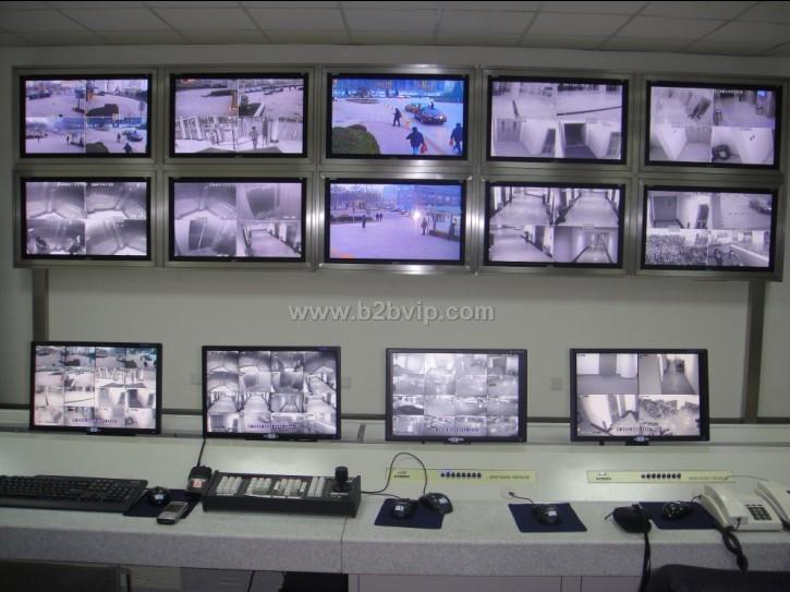 硬盘录像系统,视频矩阵,画面处理器,分配器 远程拓展系统:ip监控,远程