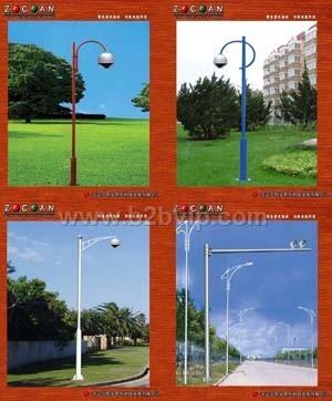 监控立杆监控支架庭院灯路灯杆交通标志杆交通信号杆