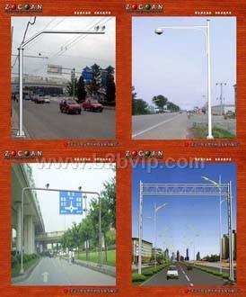交通标志杆道路灯高杆灯交通信号杆监控支架摄像机立杆