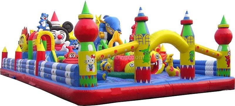 儿童组合滑梯 蹦床秋千 跷跷板 幼儿床 幼儿课桌椅 塑料球池 海洋球